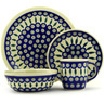 11-inch Stoneware Place Setting - Polmedia Polish Pottery H7625D