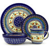 11-inch Stoneware Place Setting - Polmedia Polish Pottery H7632D