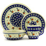 11-inch Stoneware Place Setting - Polmedia Polish Pottery H7646D