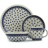 11-inch Stoneware Place Setting - Polmedia Polish Pottery H9361H