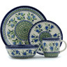 11-inch Stoneware Place Setting - Polmedia Polish Pottery H9363H