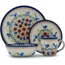 11-inch Stoneware Place Setting - Polmedia Polish Pottery H9366H