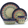 11-inch Stoneware Place Setting - Polmedia Polish Pottery H9368H