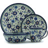 11-inch Stoneware Place Setting - Polmedia Polish Pottery H9369H