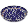 11-inch Stoneware Scalloped Bowl - Polmedia Polish Pottery H3258K