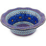 11-inch Stoneware Scalloped Bowl - Polmedia Polish Pottery H6496G