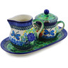 11-inch Stoneware Sugar and Creamer Set - Polmedia Polish Pottery H4882K