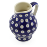 11 oz Stoneware Pitcher - Polmedia Polish Pottery H2357F