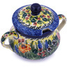 11 oz Stoneware Sugar Bowl - Polmedia Polish Pottery H0038G