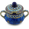 11 oz Stoneware Sugar Bowl - Polmedia Polish Pottery H0666G