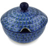 11 oz Stoneware Sugar Bowl - Polmedia Polish Pottery H4714H