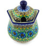 11 oz Stoneware Sugar Bowl - Polmedia Polish Pottery H4949G