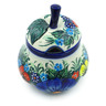 11 oz Stoneware Sugar Bowl - Polmedia Polish Pottery H7581C