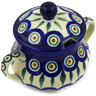 11 oz Stoneware Sugar Bowl - Polmedia Polish Pottery H8073D