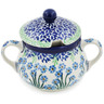 11 oz Stoneware Sugar Bowl - Polmedia Polish Pottery H8408K