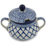 11 oz Stoneware Sugar Bowl - Polmedia Polish Pottery H8463K