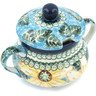 11 oz Stoneware Sugar Bowl - Polmedia Polish Pottery H8716H