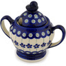 11 oz Stoneware Sugar Bowl - Polmedia Polish Pottery H9477C