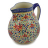 111 oz Stoneware Pitcher - Polmedia Polish Pottery H2775K