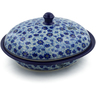 12-inch Stoneware Baker with Cover - Polmedia Polish Pottery H2151K