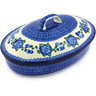 12-inch Stoneware Baker with Cover - Polmedia Polish Pottery H3350G