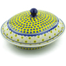 12-inch Stoneware Baker with Cover - Polmedia Polish Pottery H8632I