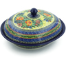 12-inch Stoneware Baker with Cover - Polmedia Polish Pottery H9445I