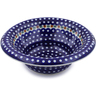 12-inch Stoneware Bowl with Rolled Lip - Polmedia Polish Pottery H2961J