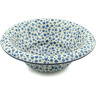 12-inch Stoneware Bowl with Rolled Lip - Polmedia Polish Pottery H3041B