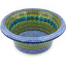 12-inch Stoneware Bowl with Rolled Lip - Polmedia Polish Pottery H6214G