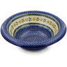 12-inch Stoneware Bowl with Rolled Lip - Polmedia Polish Pottery H8477B