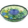 12-inch Stoneware Chip and Dip Platter - Polmedia Polish Pottery H4983G