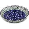 12-inch Stoneware Chip and Dip Platter - Polmedia Polish Pottery H5925J