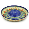 12-inch Stoneware Chip and Dip Platter - Polmedia Polish Pottery H8778D
