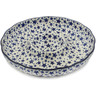 12-inch Stoneware Chip and Dip Platter - Polmedia Polish Pottery H9398K