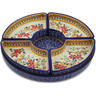 12-inch Stoneware Condiment Server - Polmedia Polish Pottery H3178K
