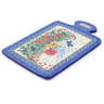 12-inch Stoneware Cutting Board - Polmedia Polish Pottery H3587I