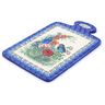 12-inch Stoneware Cutting Board - Polmedia Polish Pottery H3588I