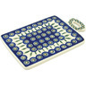 12-inch Stoneware Cutting Board - Polmedia Polish Pottery H9198A