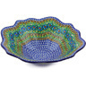12-inch Stoneware Scalloped Bowl - Polmedia Polish Pottery H5101G