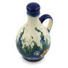 12 oz Stoneware Bottle - Polmedia Polish Pottery H6105I