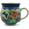 12 oz Stoneware Bubble Mug - Polmedia Polish Pottery H0008J