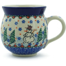 12 oz Stoneware Bubble Mug - Polmedia Polish Pottery H0010J
