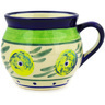 12 oz Stoneware Bubble Mug - Polmedia Polish Pottery H0139E