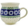 12 oz Stoneware Bubble Mug - Polmedia Polish Pottery H0585B