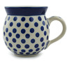12 oz Stoneware Bubble Mug - Polmedia Polish Pottery H0838B