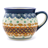12 oz Stoneware Bubble Mug - Polmedia Polish Pottery H0909A