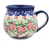 12 oz Stoneware Bubble Mug - Polmedia Polish Pottery H0951K