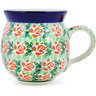 12 oz Stoneware Bubble Mug - Polmedia Polish Pottery H0968B