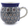 12 oz Stoneware Bubble Mug - Polmedia Polish Pottery H1128B